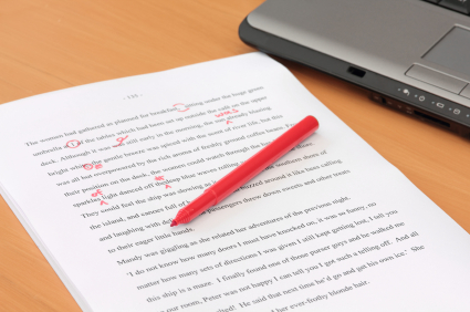 Red Pen Corrections